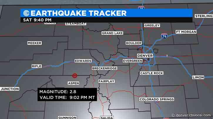 USGS Reports 2.8 Magnitude Earthquake Near Aspen Saturday Night