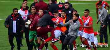 Nacional Potosí suma un punto valioso en El Alto ante el campeón; pelea campal al final (1-1) | EL DEBER - EL DEBER