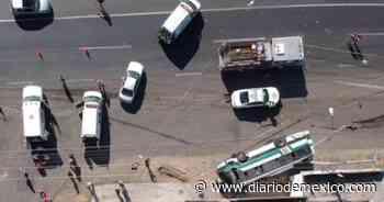 Aparatoso accidente deja tres muertos en carretera a San Luis Potosí - Diario de México