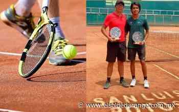 Tenistas duranguenses en Campeonato Nacional de San Luis Potosí - El Sol de Durango