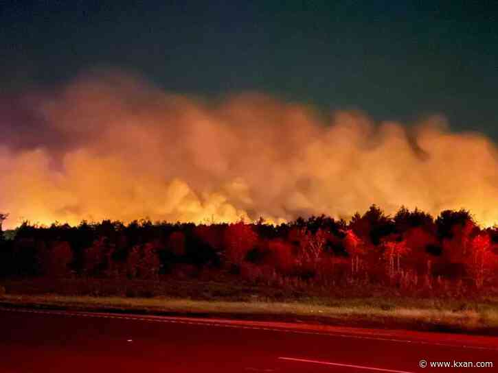 'Kinda scary': Bastrop residents react to Saturday's 100-acre wildfire