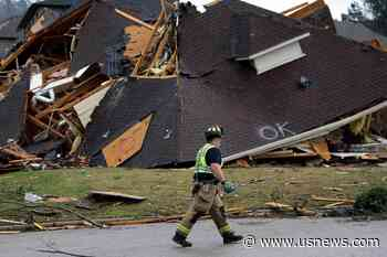 East Coast Firefighters Help Alabama Units Hit by Tornadoes