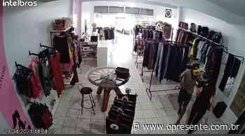 Loja é assaltada em plena luz do dia em Marechal Rondon; câmeras de segurança registram o roubo – O Pres - O Presente