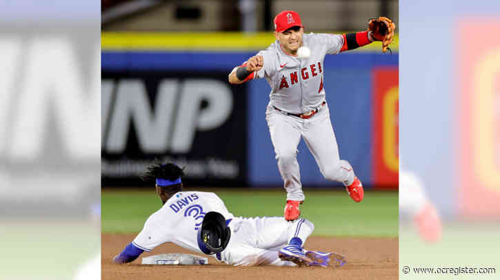 Angels blown out by Blue Jays after review goes against them