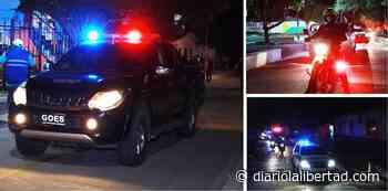 'Recorrido por la Vida'; autoridades en Sabanalarga buscan ganarle el pulso a la indisciplina social - Diario La Libertad