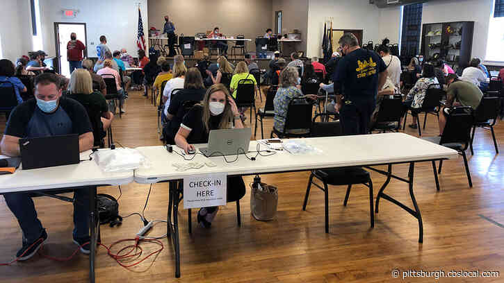 Pittsburgh Firefighters, Hilltop Pharmacy Hold COVID-19 Vaccine Clinic For Second Dose Distribution