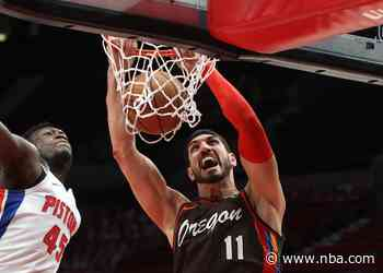 Kanter Sets Franchise Records In Rebounding In Win Versus Pistons
