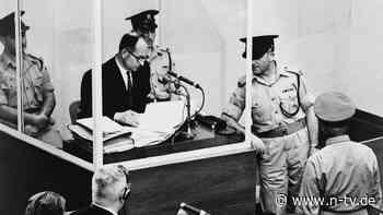 """Hitlers """"Spediteur des Todes"""": Als sich Eichmann verantworten musste"""