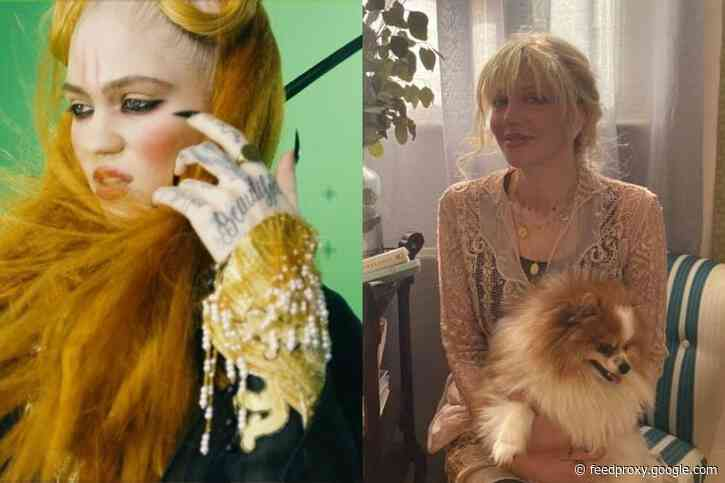 Courtney Love Reveals the Only Grimes Song She Likes