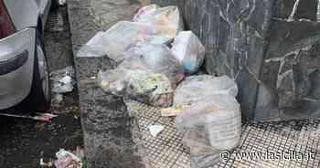 Tremestieri Etneo (Ct) invasa dai rifiuti - La Sicilia