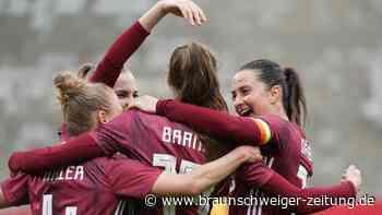 Frauen-Nationalmannschaft: Trotz Corona-Stress: DFB-Frauen als Einheit zum Sieg