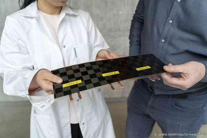 Chalmers-Universität zeigt Strukturbatterie die alles bisher Dagewesene weit übertrifft
