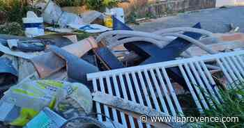 Gignac-la-Nerthe : des dépôts sauvages près du cimetière - La Provence
