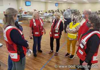 Even a pandemic didn't stop Red Cross disaster volunteers from serving their community