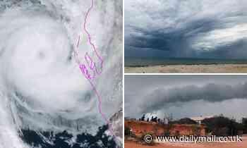 Authorities warn of tropical cyclone makes landfall in Western Australia TONIGHT