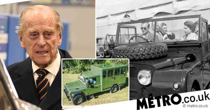Prince Philip designed his own Land Rover hearse to carry his coffin