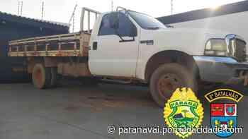 Região Caminhonete furtada no Mato Grosso do Sul é recuperada em Terra Rica 01/04/2021 - ® Portal da Cidade | Paranavaí
