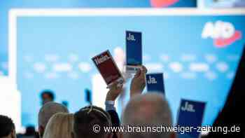 """Bundestagswahl: AfD-Parteitag: Waffenscheine und Aufregung um """"Dexit"""""""