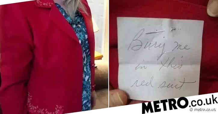 Woman finds eerie note in her charity shop buy