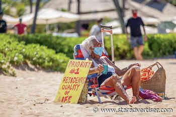 Frustrated residents push back as Hawaii tourism resurges