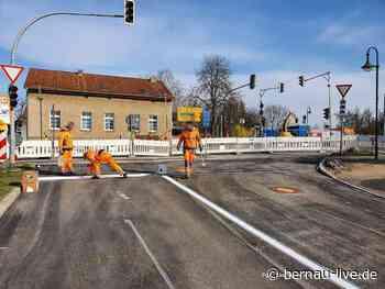 Baustelle Ahrensfelde - Mehrow B158 / L339 / L311 - Samstag fertig - Bernau LIVE