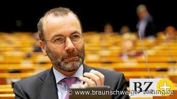 Außenpolitik: Manfred Weber droht Putin mit schärferen Sanktionen