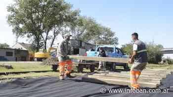 Renovación de vías en Estación El Talar - InfoBan