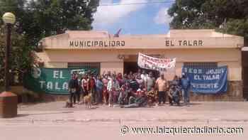 Municipales del Talar luchan por el pase a planta y denuncian represión - La Izquierda Diario