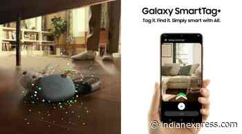 Samsung SmartTag+ to launch globally April 16 - The Indian Express
