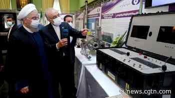 Iran launches advanced IR-6 uranium enrichment centrifuges to mark nuclear technology day - CGTN