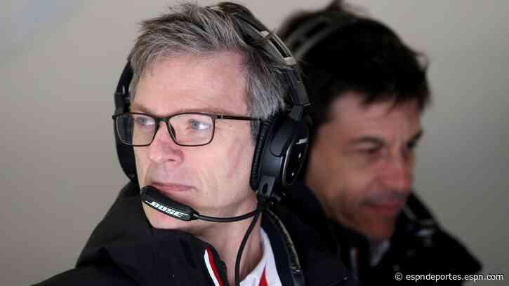 James Allison deja dirección técnica de Mercedes; tendrá otro puesto en la organización - ESPN Deportes