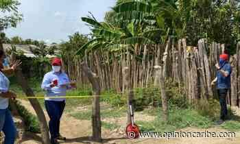 Funcionarios del DPS inspeccionan obras de pavimentación en Sitionuevo - Opinion Caribe
