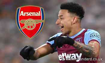 Jesse Lingard to Arsenal: West Ham loanee a target if Martin Odegaard deal fails
