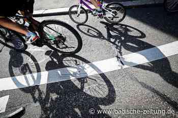 An den Radweg beim Nonnenweierer Einkaufszentrum soll ein Poller - Schwanau - Badische Zeitung - Badische Zeitung