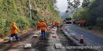 FOVIAL inicia obras de mantenimiento en tramo Concepción de Ataco - Ahuachapán - La Prensa Grafica