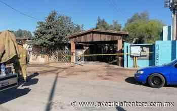 Muere residente de Ejido Guadalupe Victoria en incendio - La Voz de la Frontera