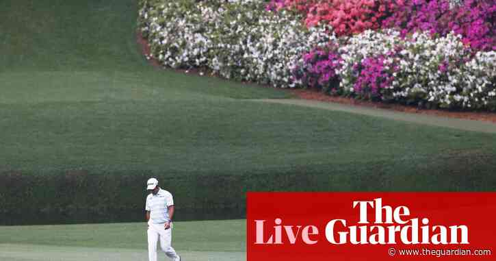 The Masters 2021: fourth round – live!