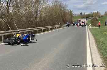 Willanzheim: Motorradfahrer stirbt nach schwerem Unfall