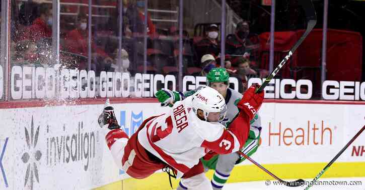 The Importance of Being Erne-ist: Wings outshootout the Canes