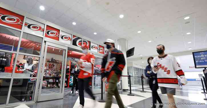 Red Wings at Hurricanes: GDU, Lineups, Keys to the Game