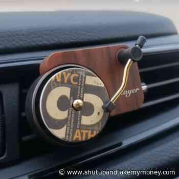 Vinyl Car Air Freshener