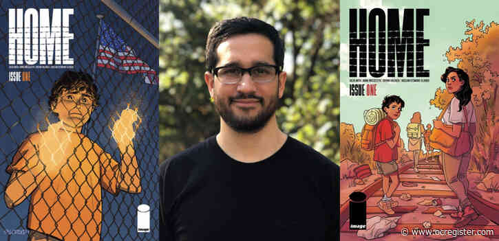 Immigration and family separation policies at the US border inspire comic book 'Home'