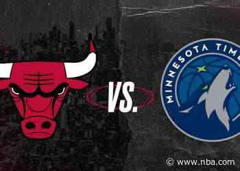 Keys to the Game: Bulls at Timberwolves (04.11.21)