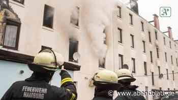 Brände: Mehrere Verletzte nach Wohnungsbrand in Hamburg