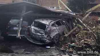 NRW: Gülle-Trecker--Unfall in Horstmar – Bewohner ist entsetzt - BILD