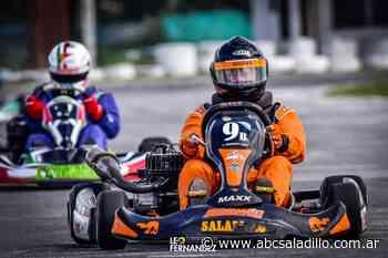 Karting: Carlos Simonetti finalizó octavo en Zarate - ABC Saladillo