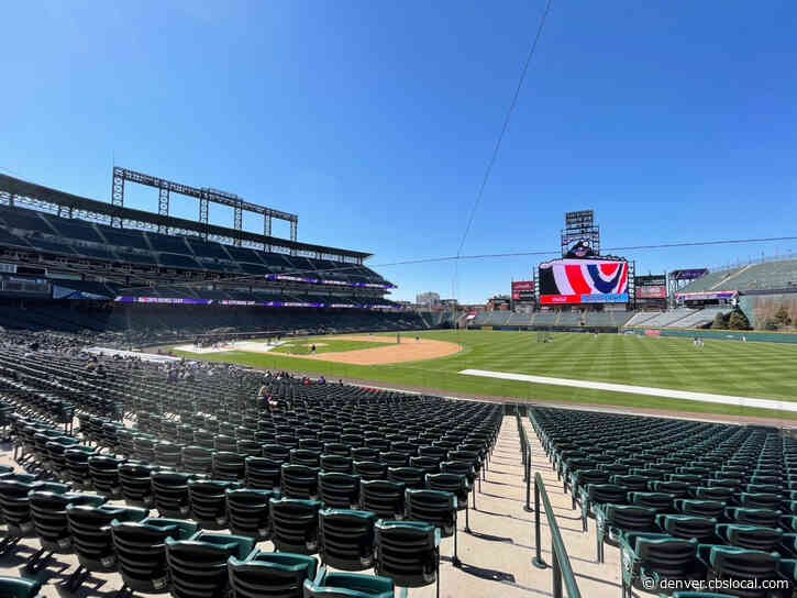 Take Me Out To The Ball Game: April Tickets To Rockies Games Now Available