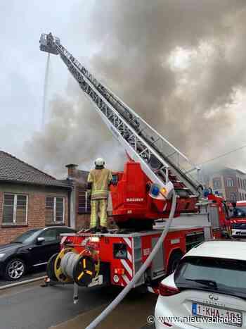 Brand in schoolgebouw in Schaarbeek - Het Nieuwsblad