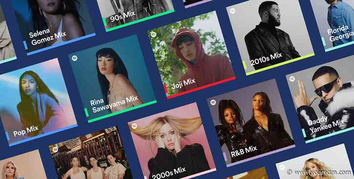 New Spotify Mixes Feature Your Favorite Artists, Genres, and Decades