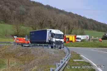 PHOTOS. Aubrives : un conducteur de fourgonnette blessé dans une collision - L'Ardennais